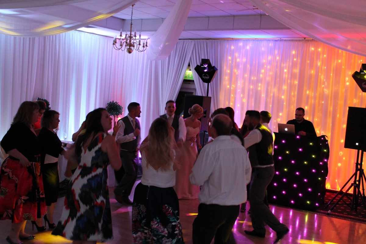 Wedding Disco DJ Cambridge