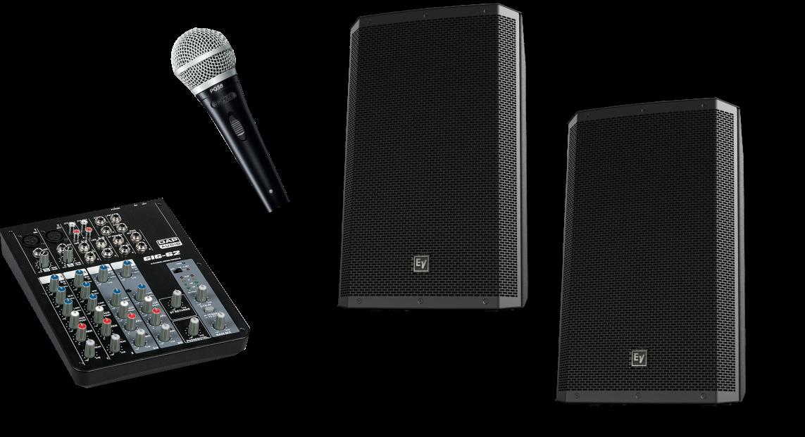 Speaker System Hire Cambridge