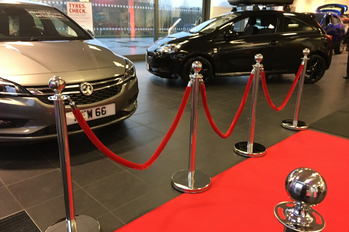 Vauxhall Showroom Event