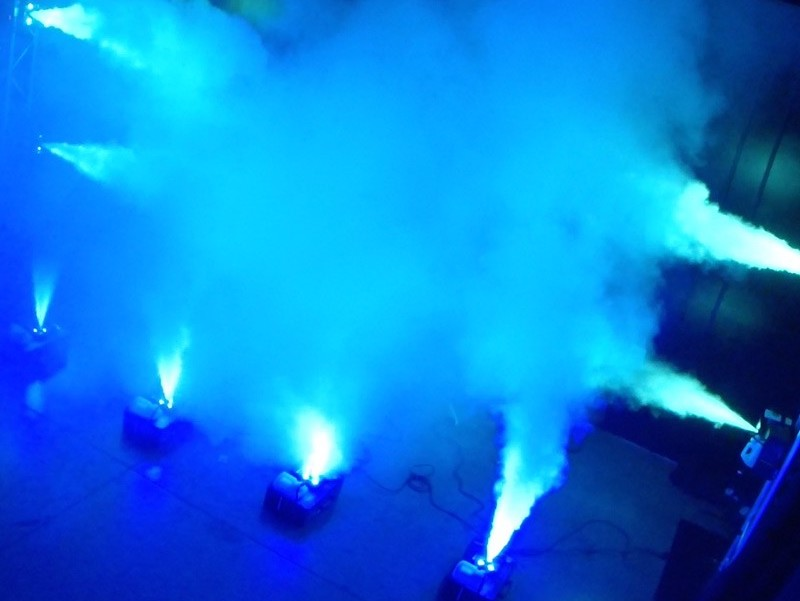 Vertical Smoke Machine Hire Cambridge