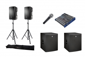 PA system Hire Cambridge