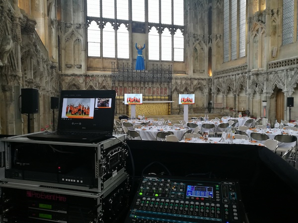 Conference Audio Visual Cambridge London