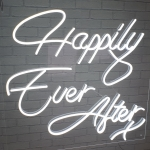 Wedding Neon Sign Hire Cambridge London
